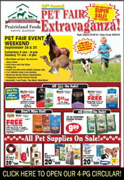 Click here to open 4-page circular with Pet Fair sales!