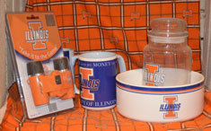 University of Ilinois sports fan gear