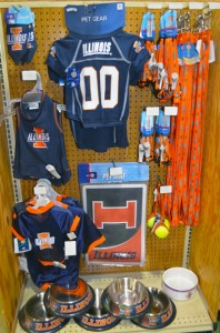 University of Illinois fan gear for pets